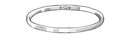 リングのデザイン35256