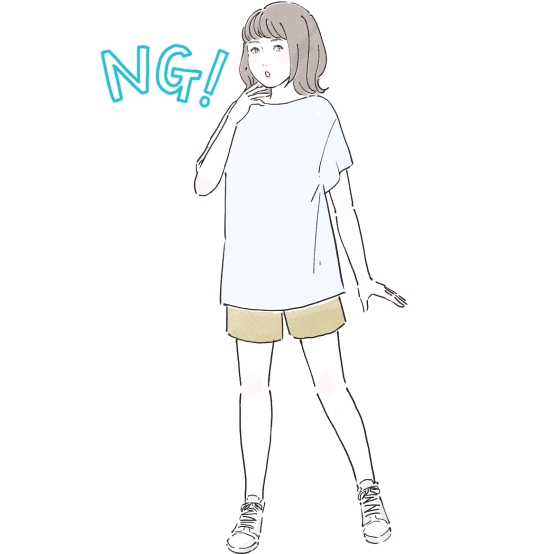 ぽっちゃり女子の服装11063